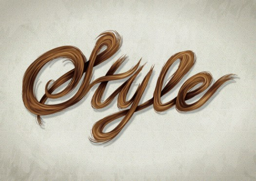 Create a Stylish, Vector Hair Typography Illustration