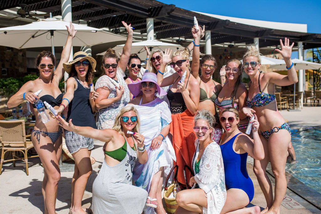 Distributors take a SeneGence incentive trip to Cabo San Lucas, Mexico.