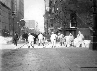 Crosswalk clearing