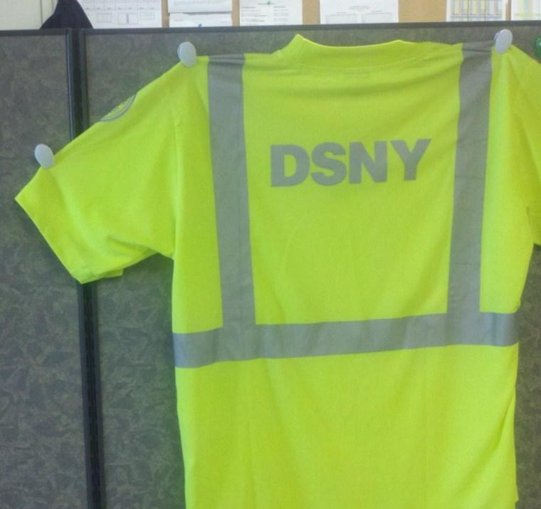 ANSI T shirt back