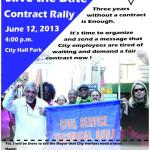 Contract Rally JUNE 12 2013