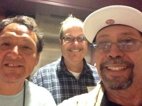 Jorge, John and Sam
