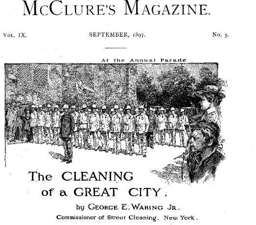 The cleaning of a Great City
