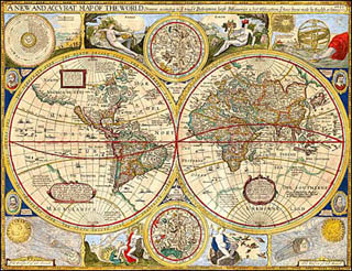 The World Since 1492   History   MIT OpenCourseWare 16th century map of the world