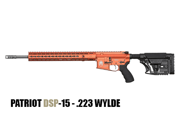 use-PATRIOT DSP-15 - .223 WYLDE