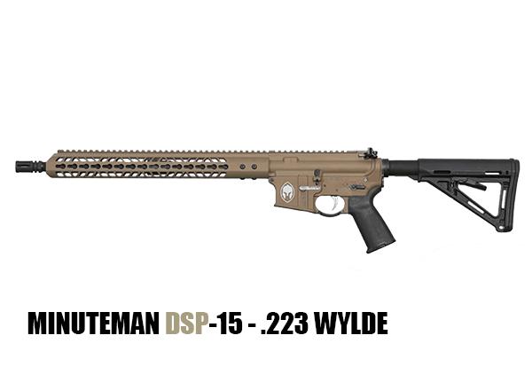 minuteman DSP-15 - .223 WYLDE AR