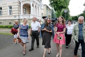 Після зустрічі: прогулянка з Аґатою Тушинською до колишньої гімназії ім. Генрика Сенкевича