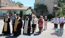 Панахида біля пам'ятника Івана Франка