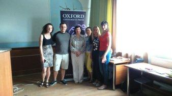 Презентація продукції видавництва Oxford у рамках проекту