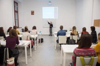 Заняття проводить Ольга Мангушева, сертифікований ерготерапевт США