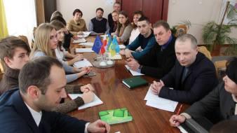 Учасники спільної робочої комісії Дрогобицької міської ради та ДПУ ім. І.Франка
