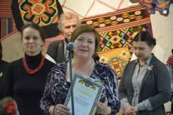 Вручення грамоти Міністерства культури України викладачу Дрогобицького університету Гром Галині