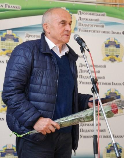 Заслужений професор ДДПУ імені Івана Франка Роман Пелещак