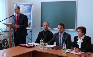 Відкриває урочистості вчений секретар Вченої ради доцент Микола Галів