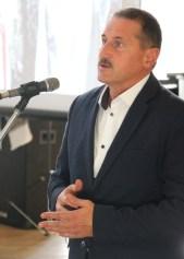 Виступає міський голова Дрогобича Тарас Кучма