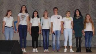 Команда першокурсників інституту фізичної культури та здоров'я