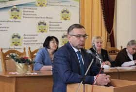 Виступає проректор з наукової роботи професор Микола Пантюк