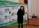 Магiстрiв-випускникiв вiтає заступник директора iнституту доцент Вiра Слiпецька