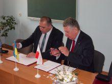 Підписання угоди про співпрацю між Державною вищою професійною школою імені Вітелона в Легниці та Державним історико-культурним заповідником «Нагуєвичі»