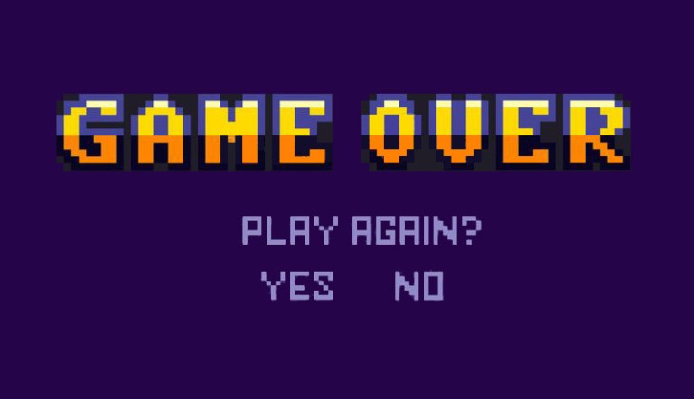 img - game over play again