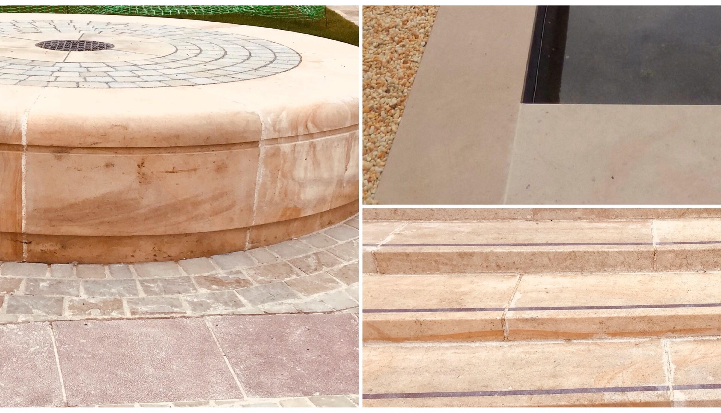 Vezelay frost resistant limestone flooring exterior steps masonry