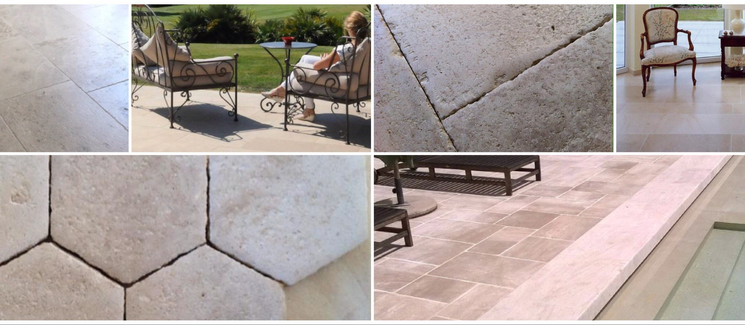 Limestone tile for indoor flooring and outdoor stone flooring