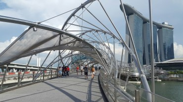 On the Helix Bridge