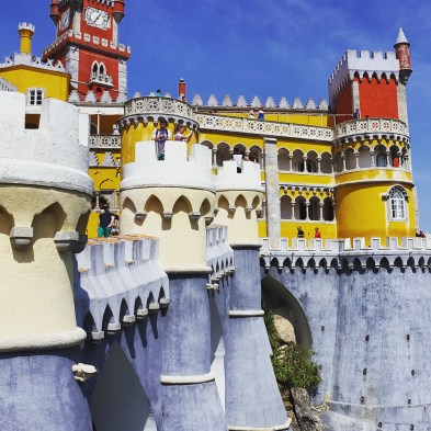 Real life Disney princess castle (aka Pena Palace)