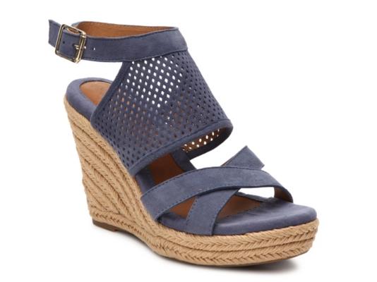 ca694842fbe Eurosoft Parisa Wedge Sandal Women s Shoes Dsw