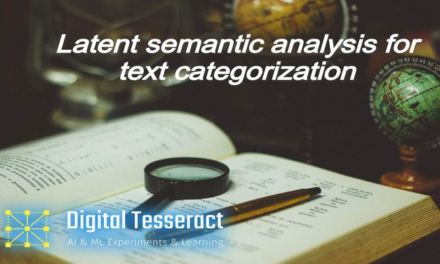 Latent semantic analysis for text categorization
