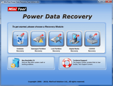 New v6.0 of MiniTool Power Data Recovery makes it free for home use | dotTech