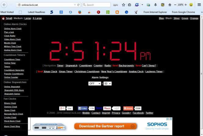 Set Up An Alarm Clock Online Tip