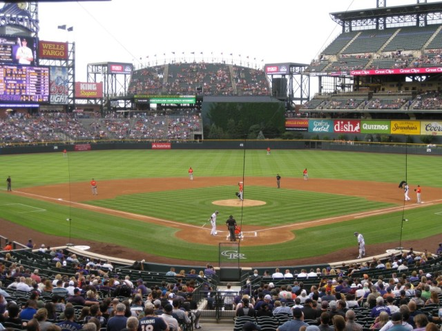 Coors Field Colorado Rockies events tickets parking hotels seating food