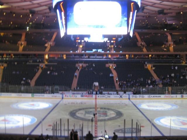 Madison Square Garden New York Knicks Rangers