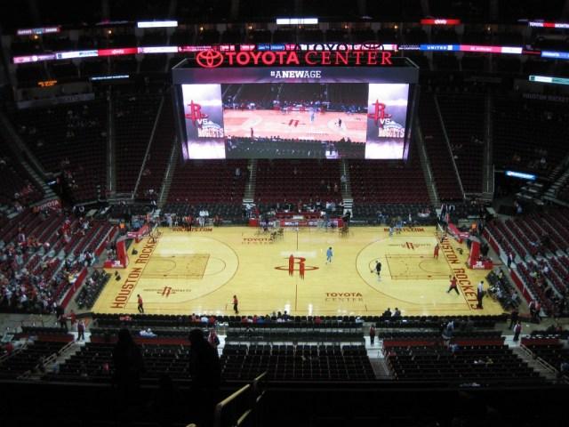 Toyota Center court