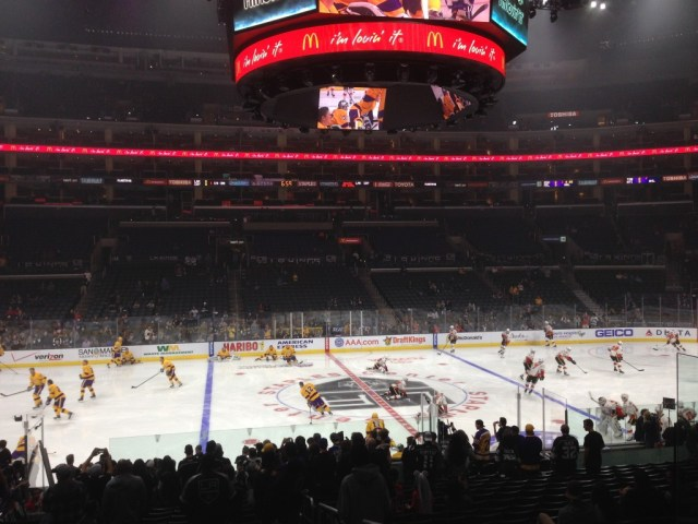 Staples Center Los Angeles Kings Lakers Clippers events seating chart parking food