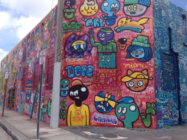 Wynwood Art District Miami sports travel