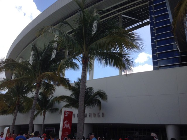 Marlins Park Miami sports travel