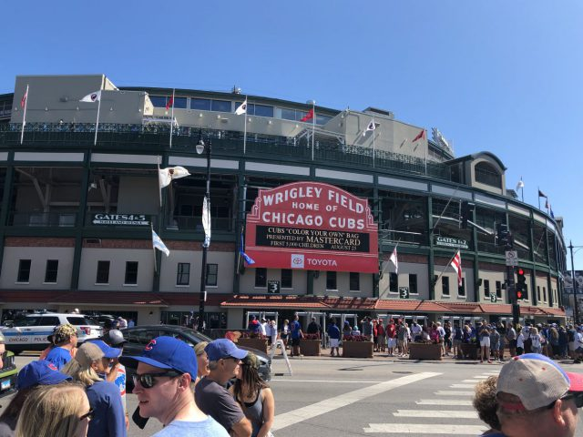 Wrigley Field Chicago Cubs events tickets parking hotels seating food