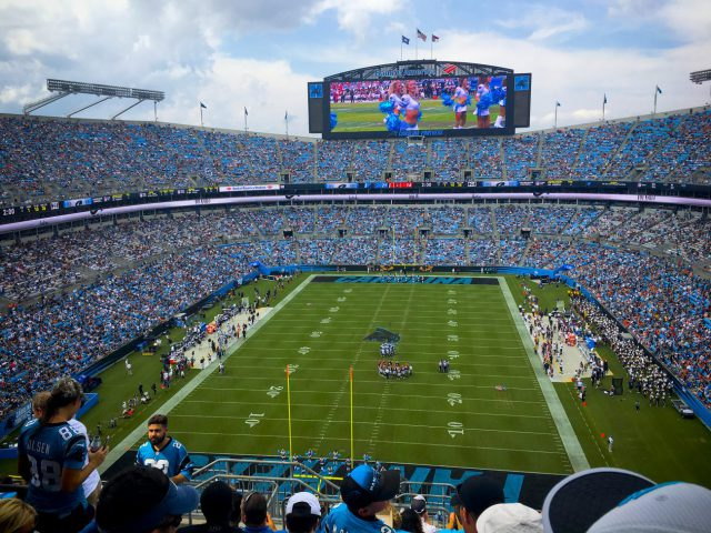 Bank of America Stadium Carolina Panthers events tickets parking hotels seating