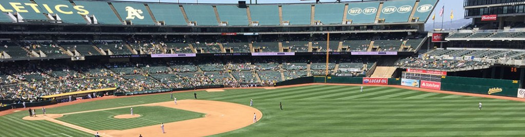 RingCentral Coliseum Oakland Athletics stadium events parking seating