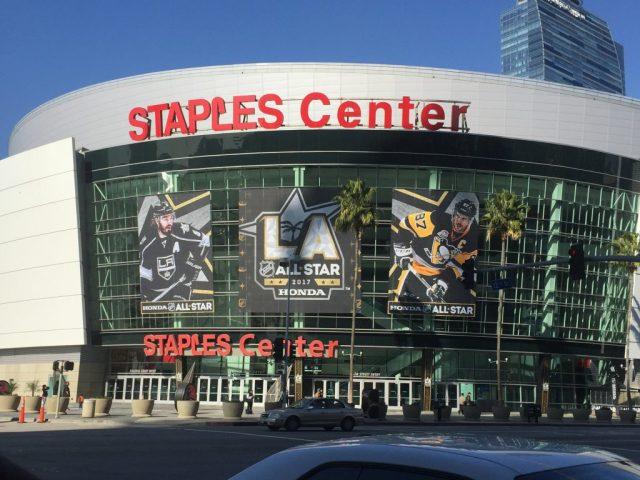 NHL All-Star facade