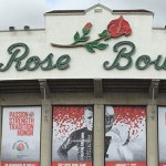 Rose Bowl Stadium panorama parade 2020