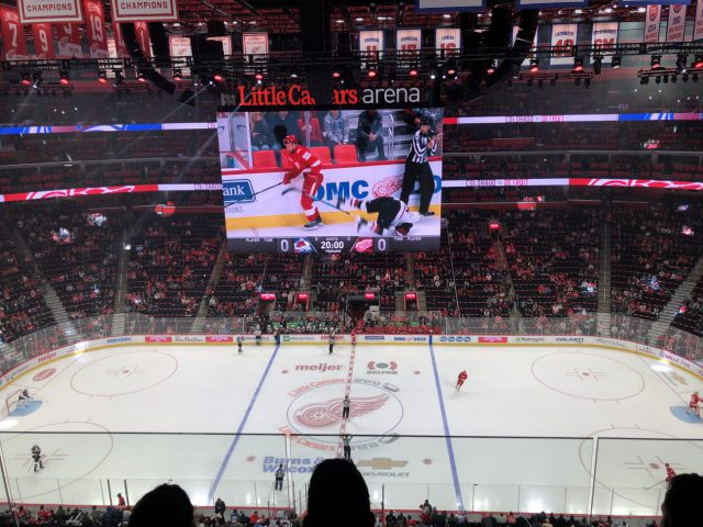Little Caesars Arena Detroit Red Wings Pistons