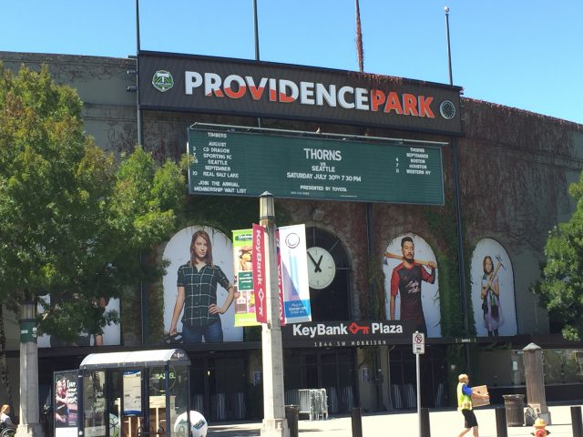 Providence Park Portland sports travel