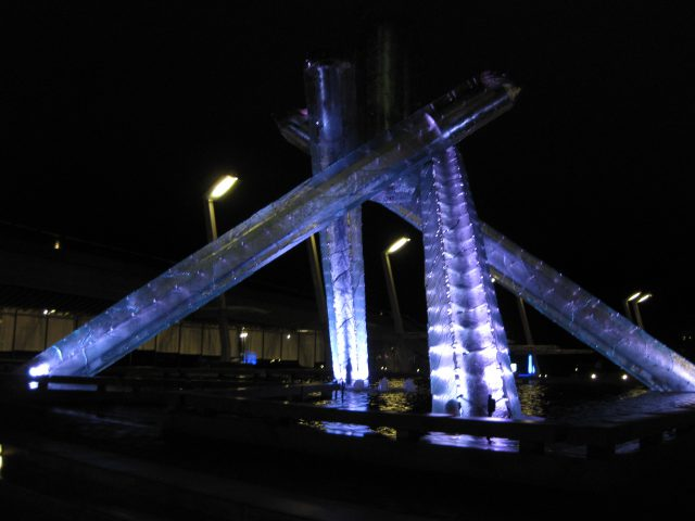 Olympic Torch Vancouver sports travel