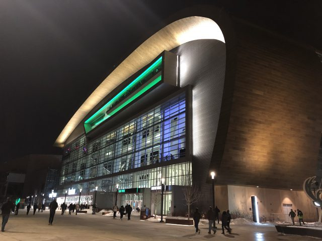 Fiserv Forum Milwaukee sports travel