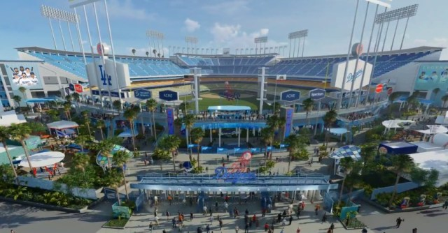 Dodger Stadium renovation renderings