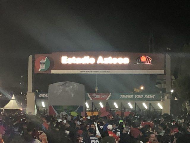Estadio Azteca entrance