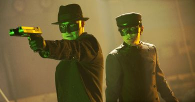The Green Hornet movie review, DT2ComicsChat, David Taylor II